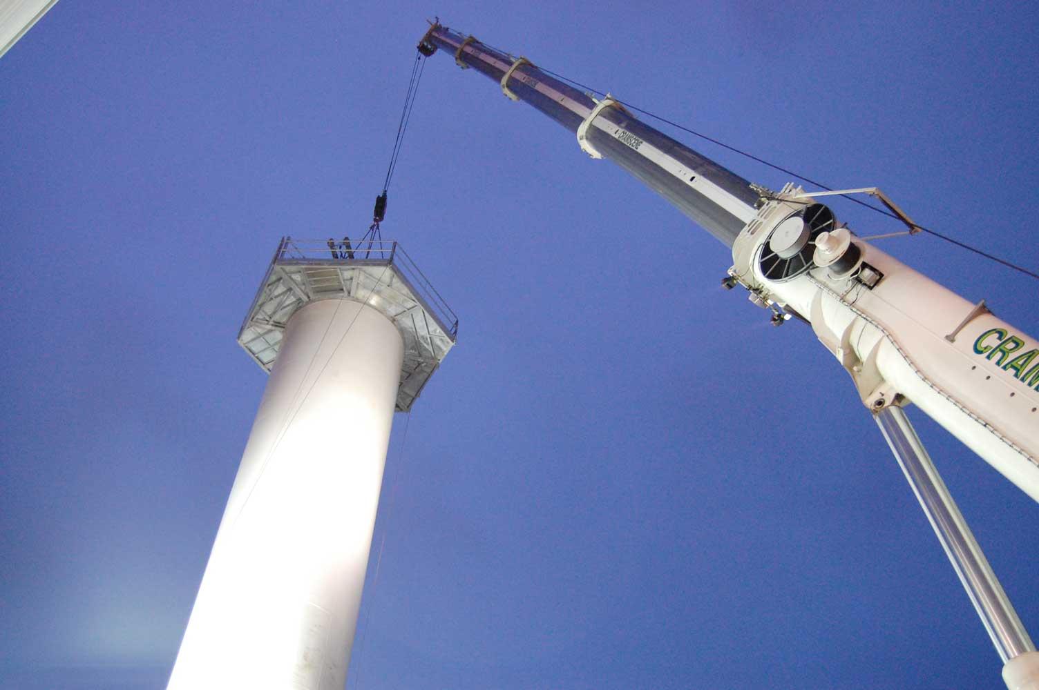 CME - Plateforme éolienne