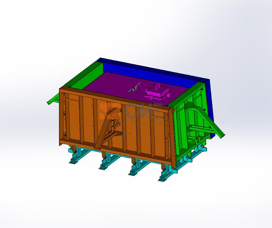 Modélisation 3D moule M1C