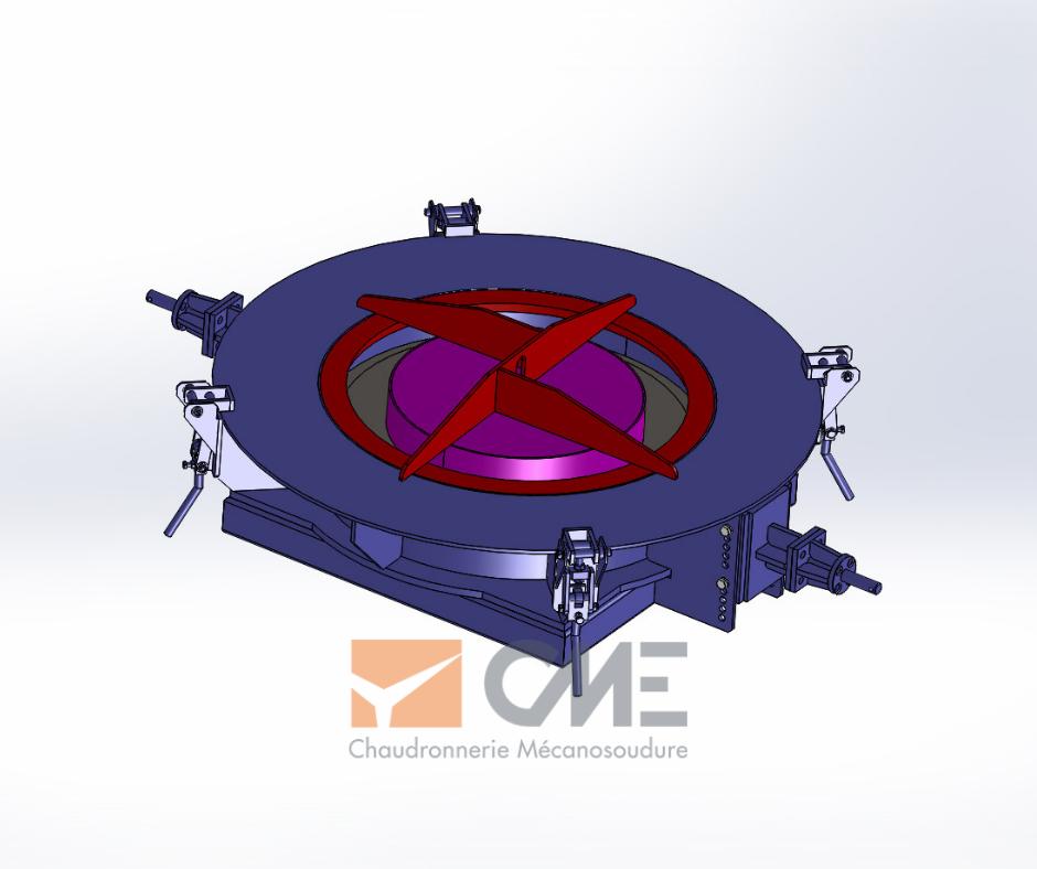 Modélisation 3D moule de dalle
