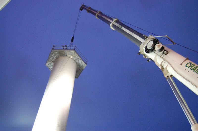 plateforme éolienne