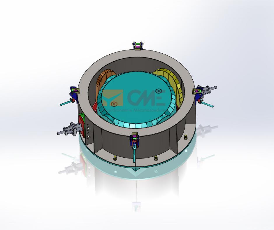 modélisation moule en 3D