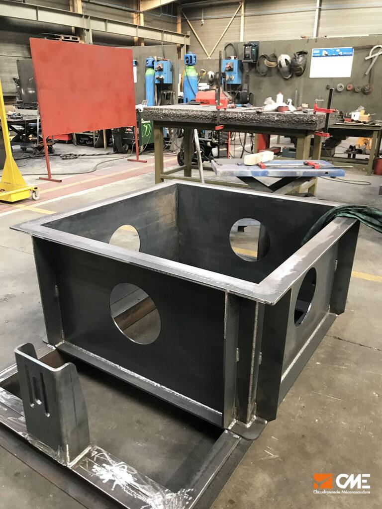 En cours de fabrication - châssis de retournement